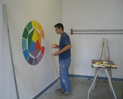 Malíř a lakýrník - Škola Jarov