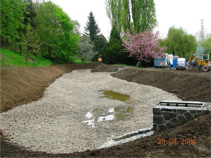 Revitalizace Botanické zahrady
