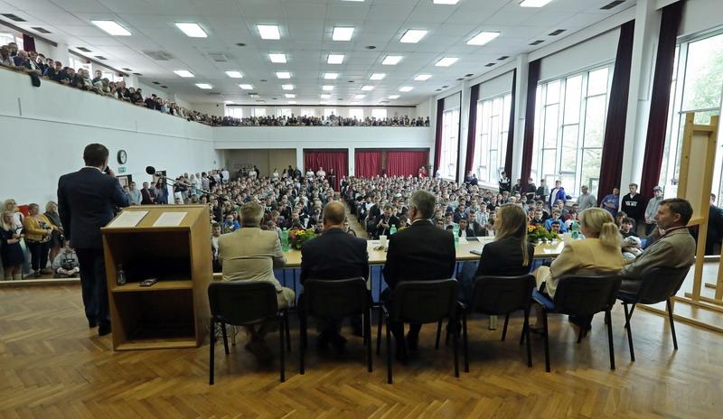 Škola Jarov - Aula