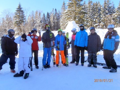 Lyžařský kurz OU 2019